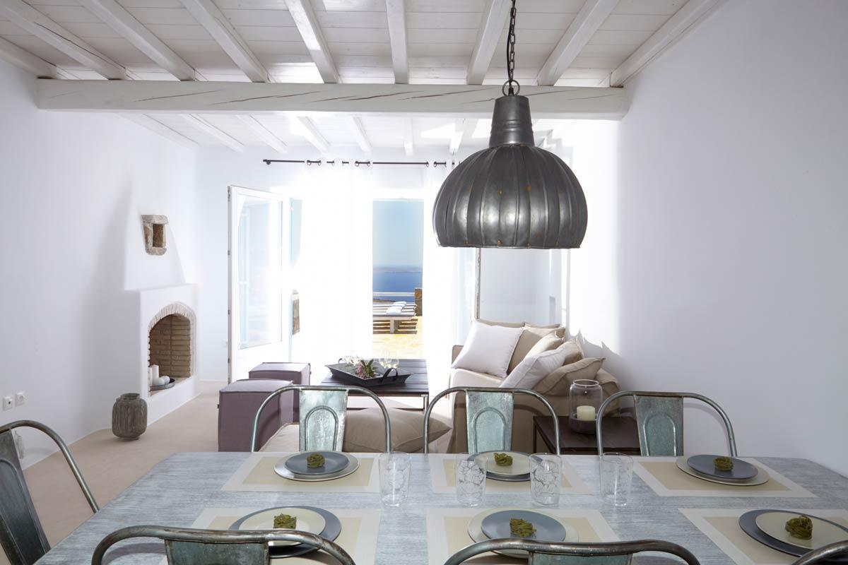 fanari villas mykonos lounge area