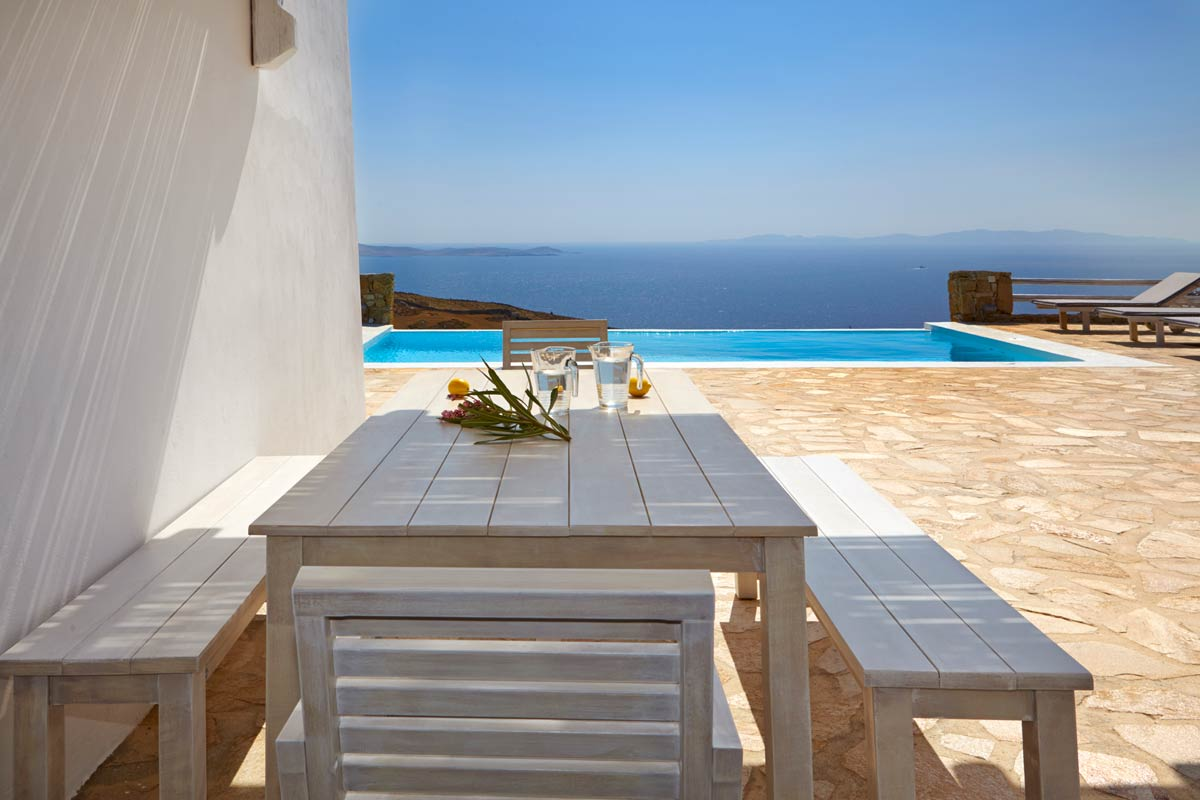mykonos villas large groups