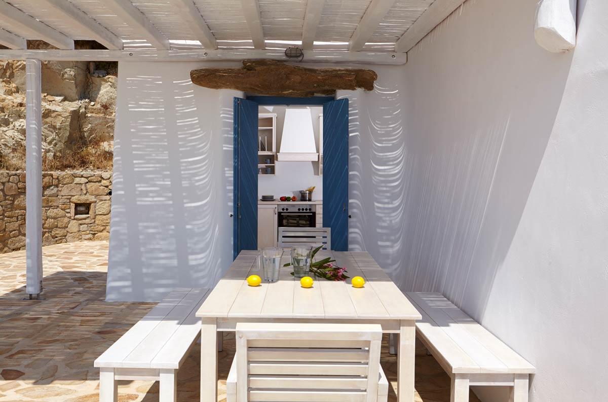 fanari villas mykonos terrace