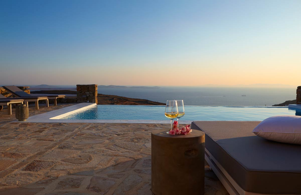 weddings mykonos villas
