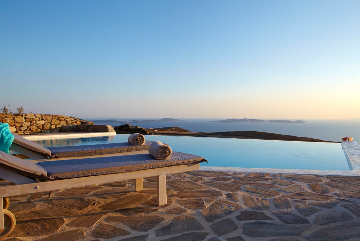 fanari villas mykonos views
