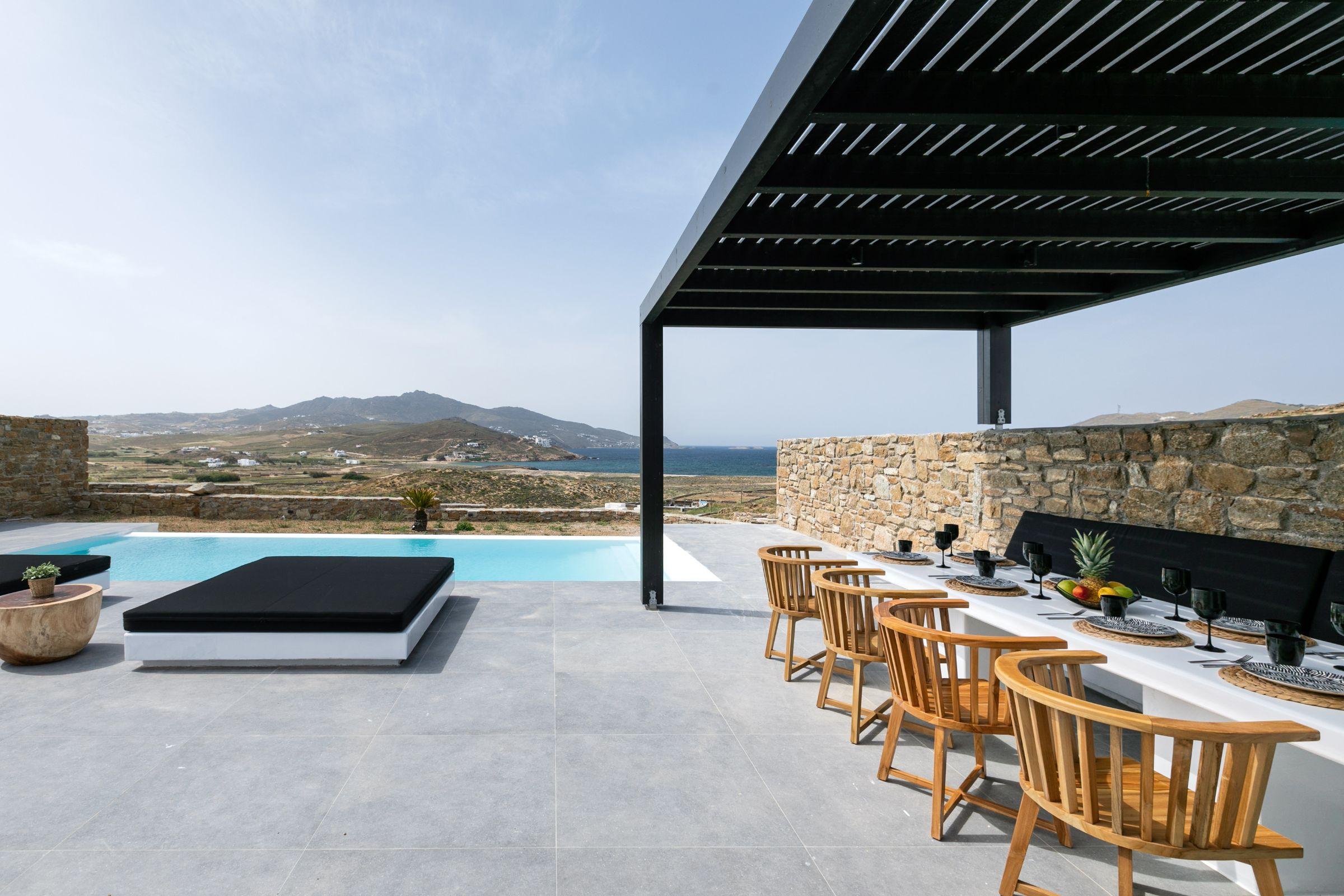 ftelia villas mykonos