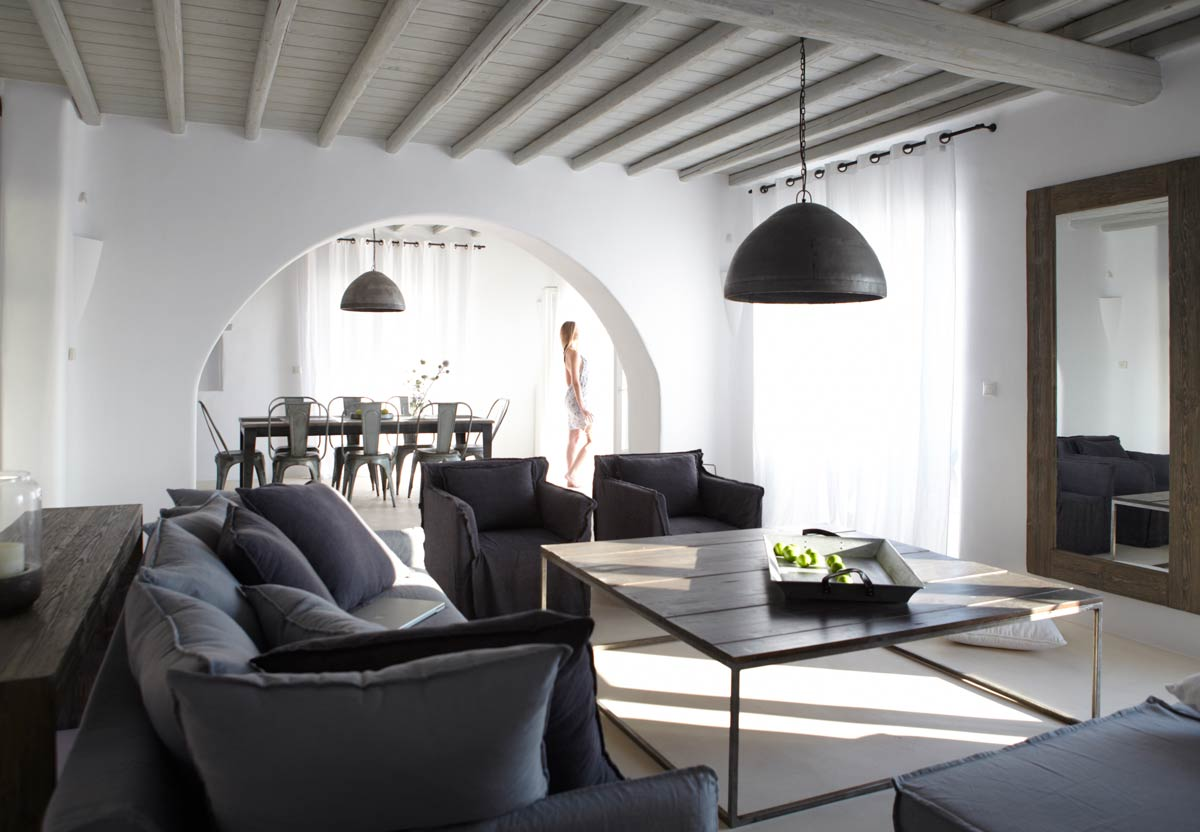 fanari villas mykonos interior