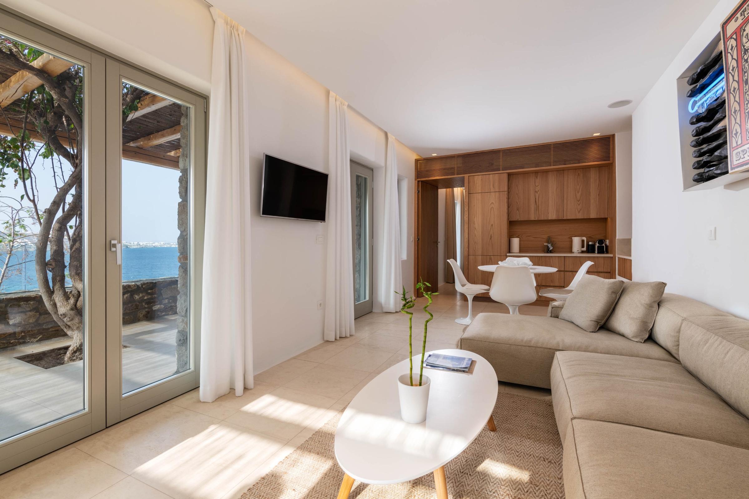 2 bedroom villa mykonos private pool