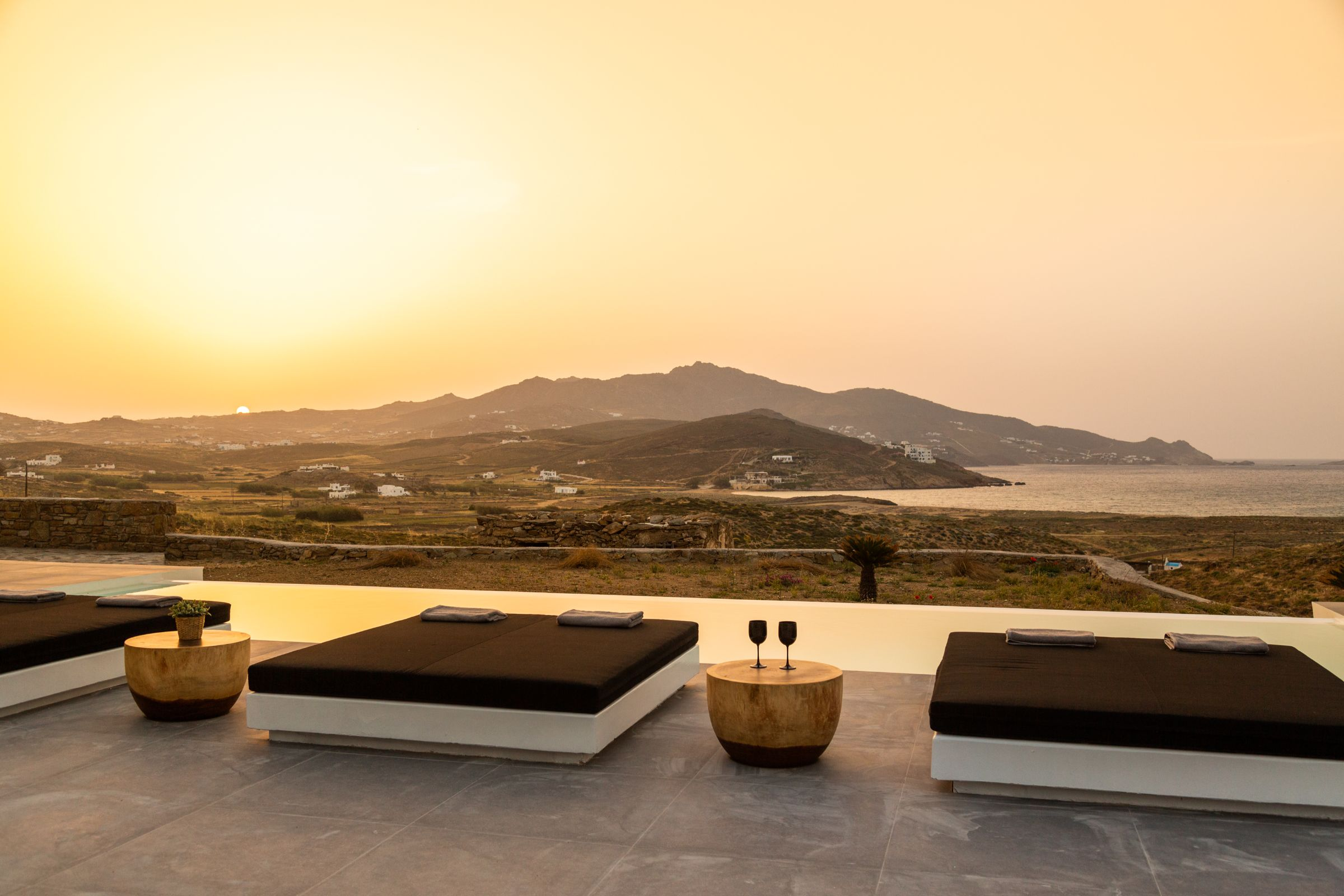 mykonos beach villas