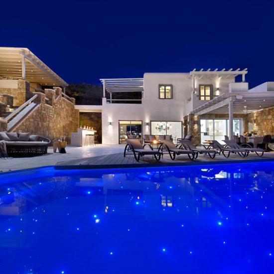 luxury villas mykonos greece