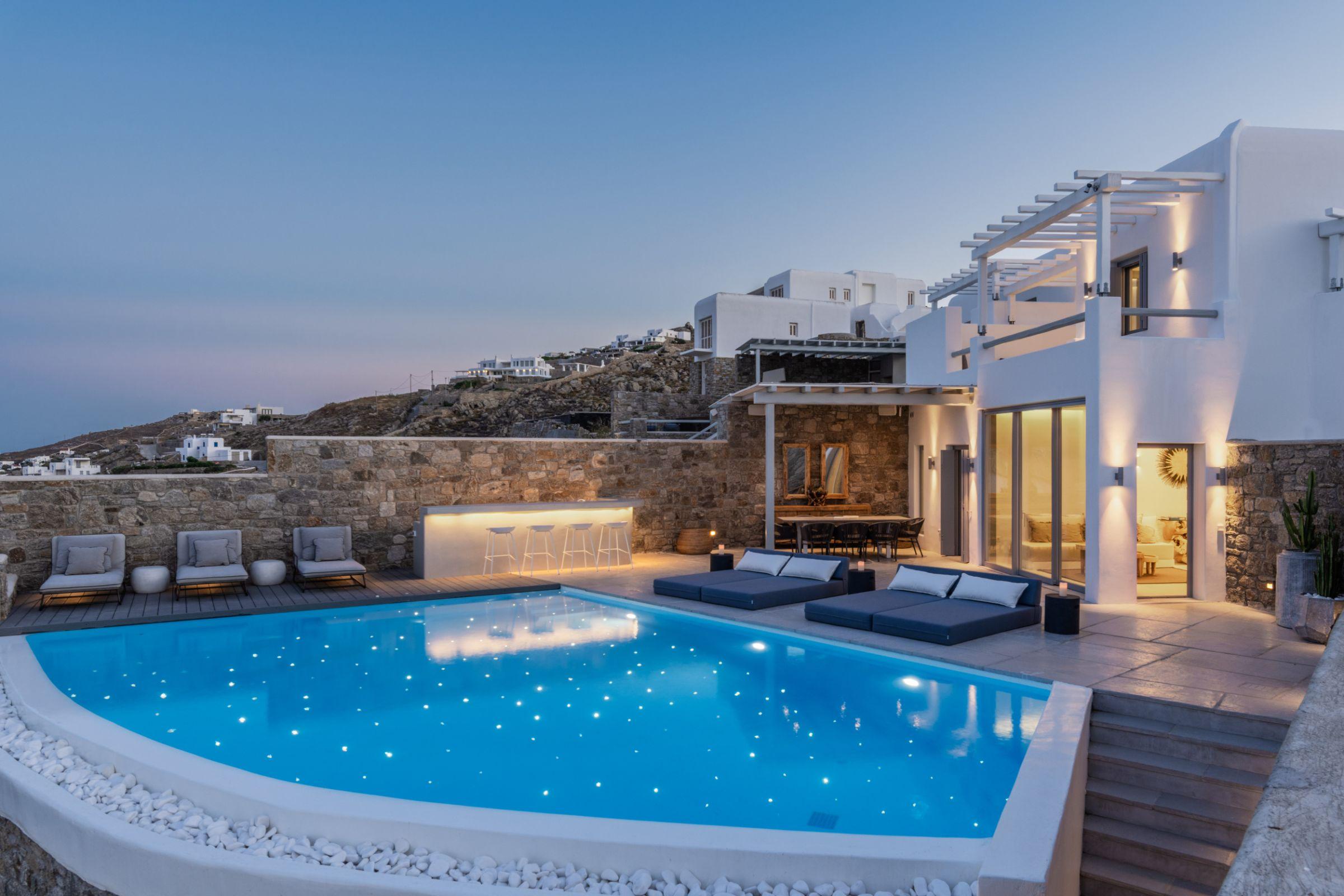 mykonos villas rentals