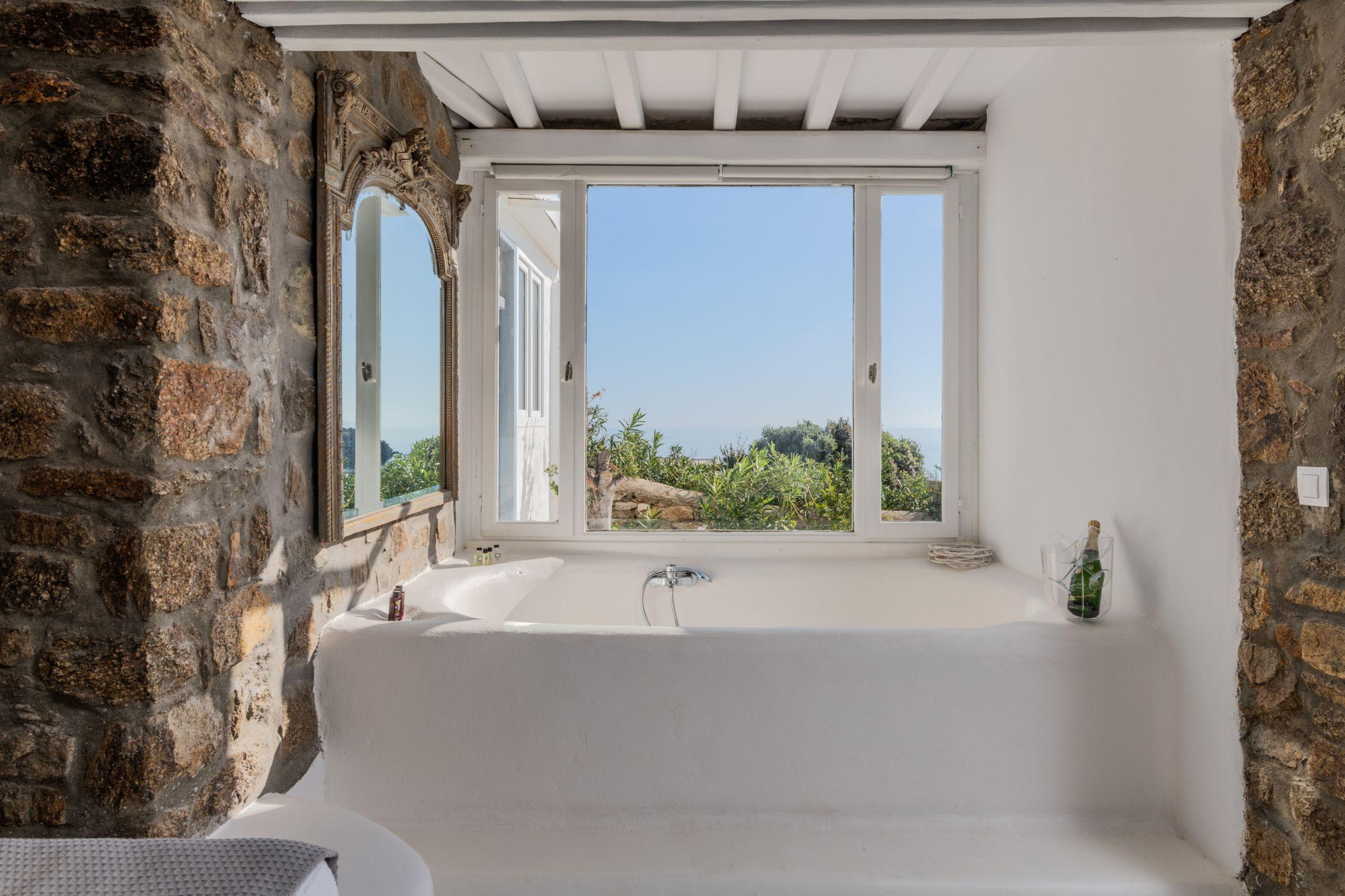 Villa Leimon Aleomandra mykonos bath