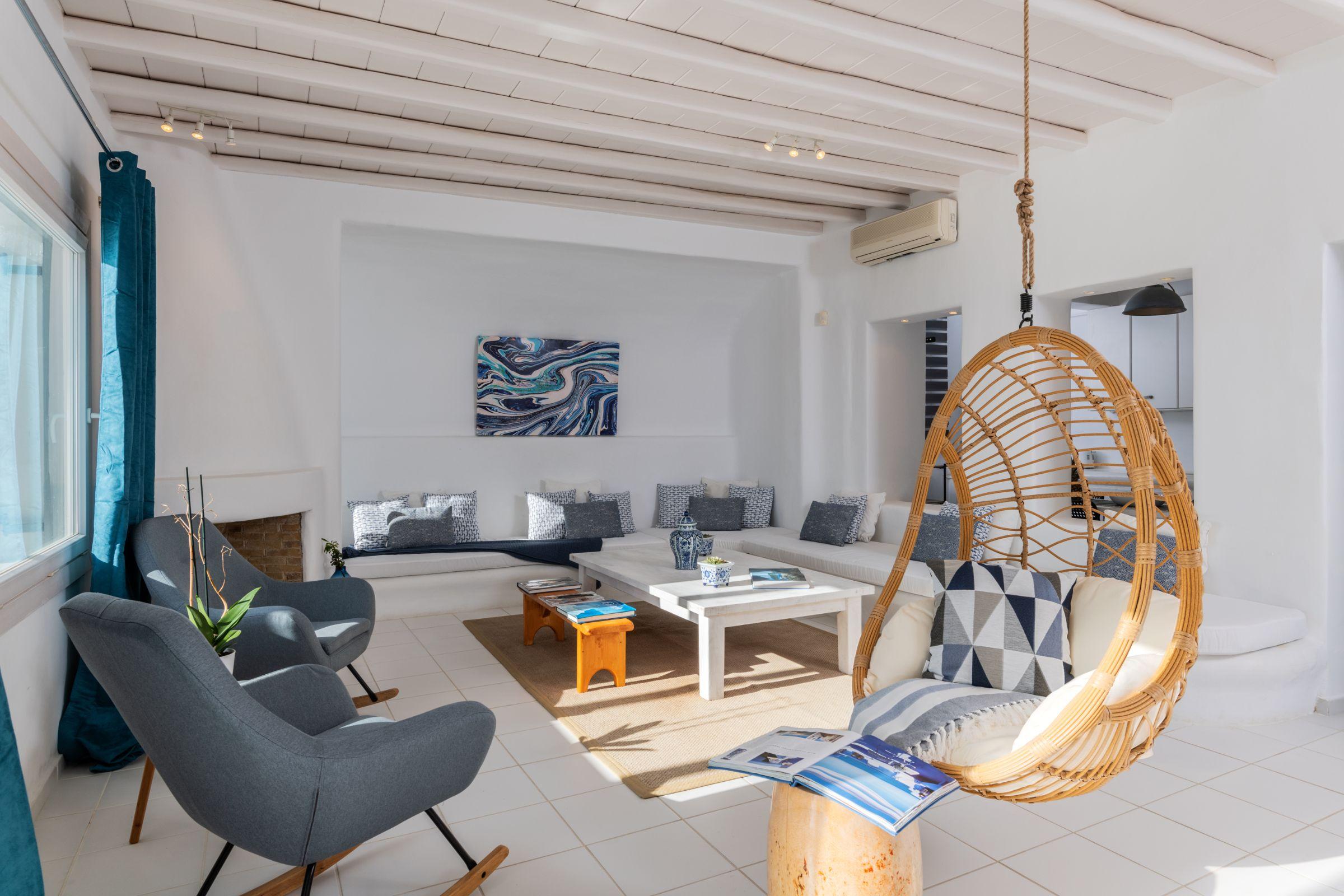 Villa Leimon Aleomandra mykonos lounge