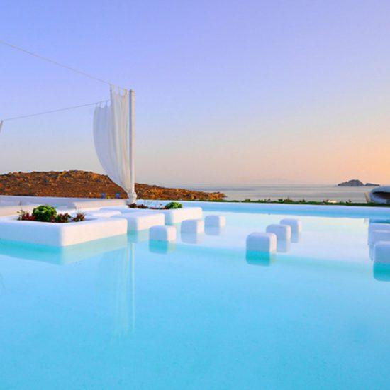 luxury mykonos villas aleomandra