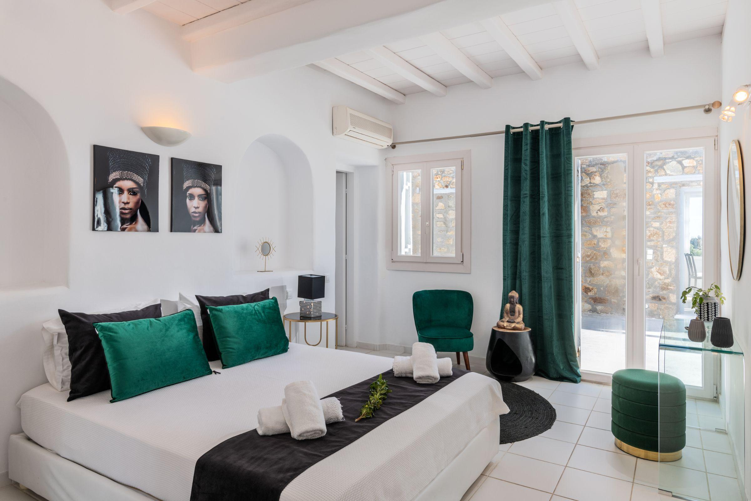 Villa Leimon Aleomandra mykonos rooms