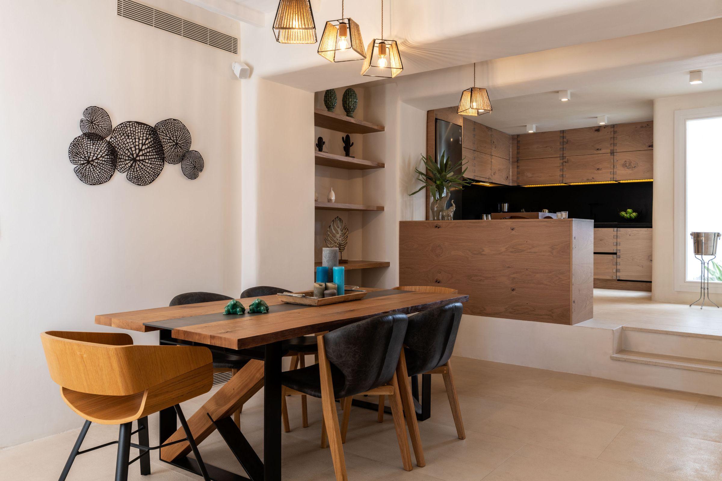 villa ani kanalia kitchen diner