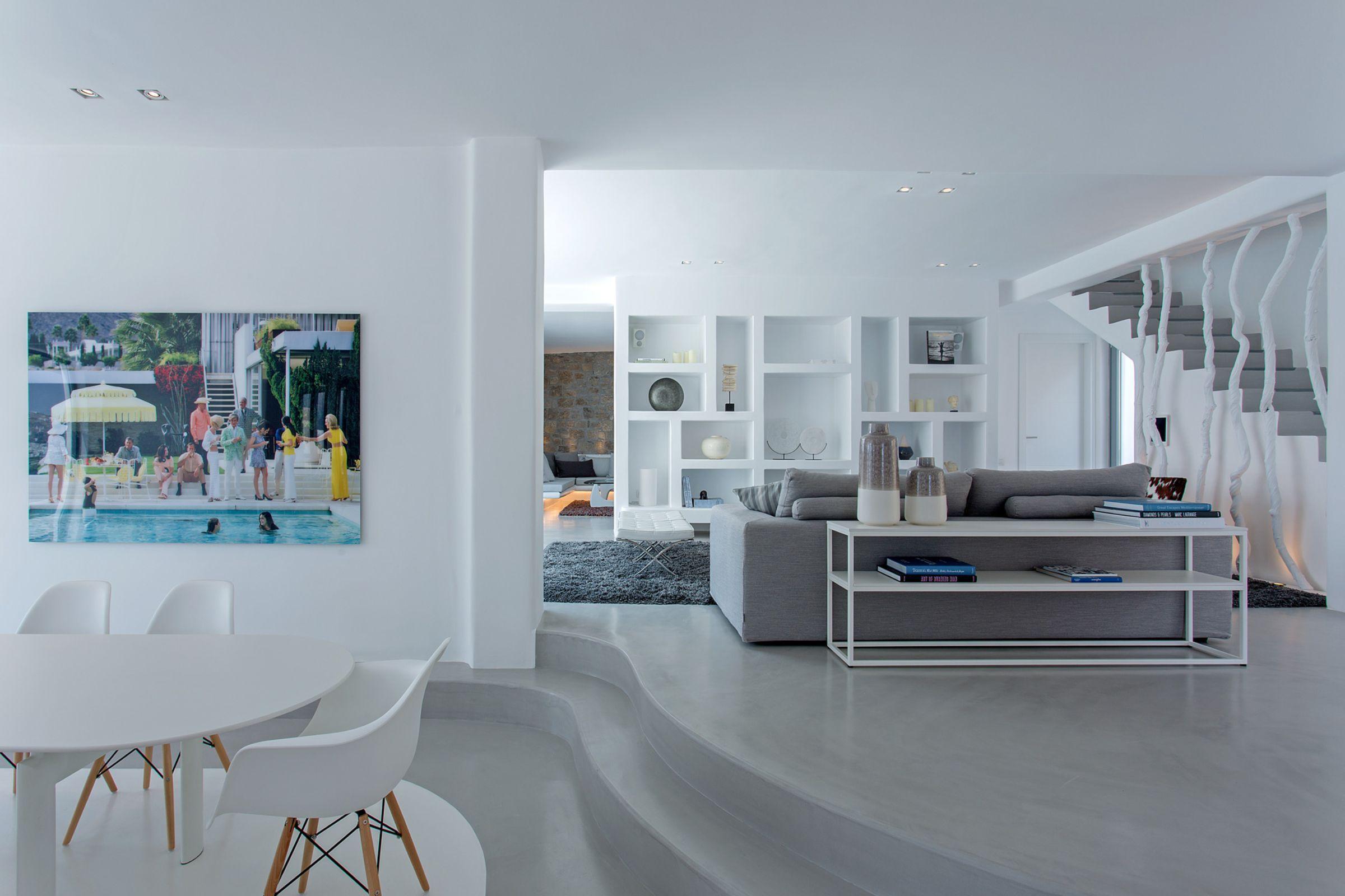 living area-villa vitos kanalis