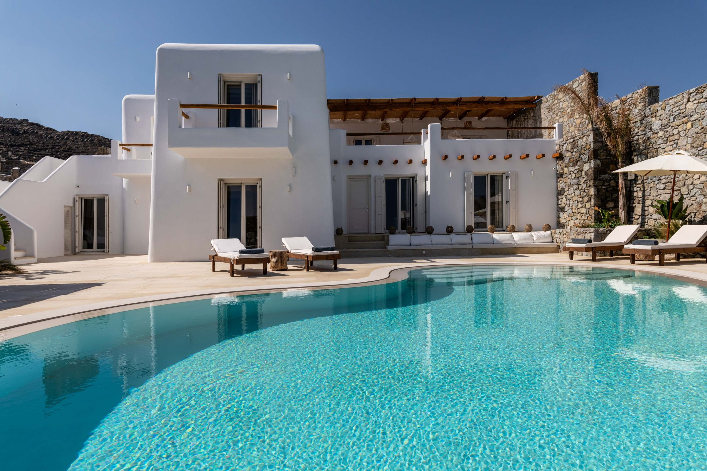 mykonos villas kanalia greece
