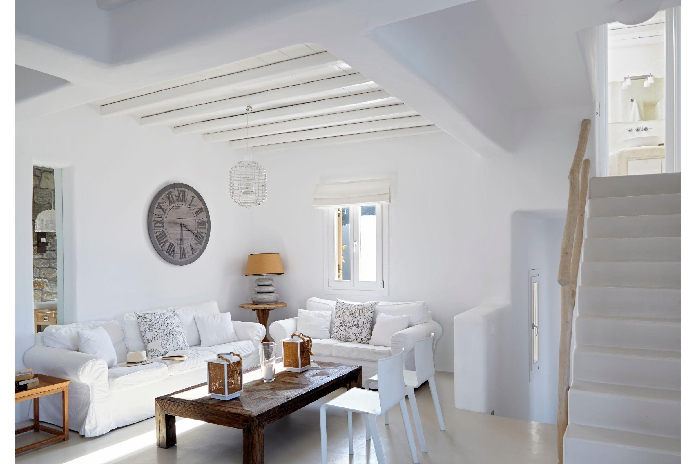 villa geni elia living area