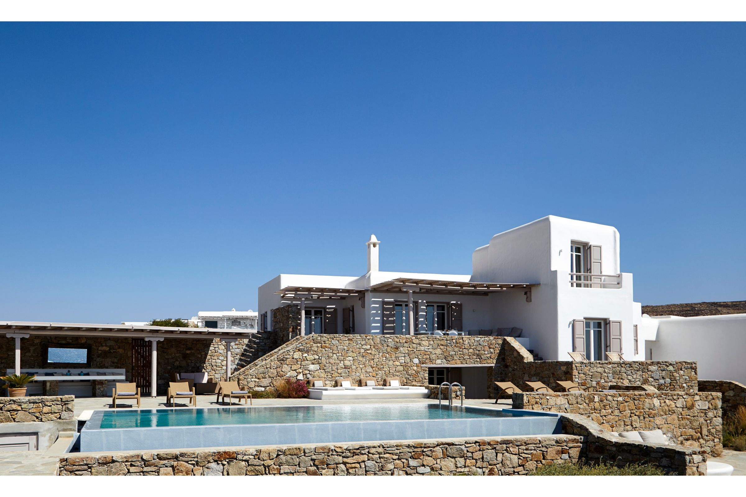 luxury mykonos villas elia beach