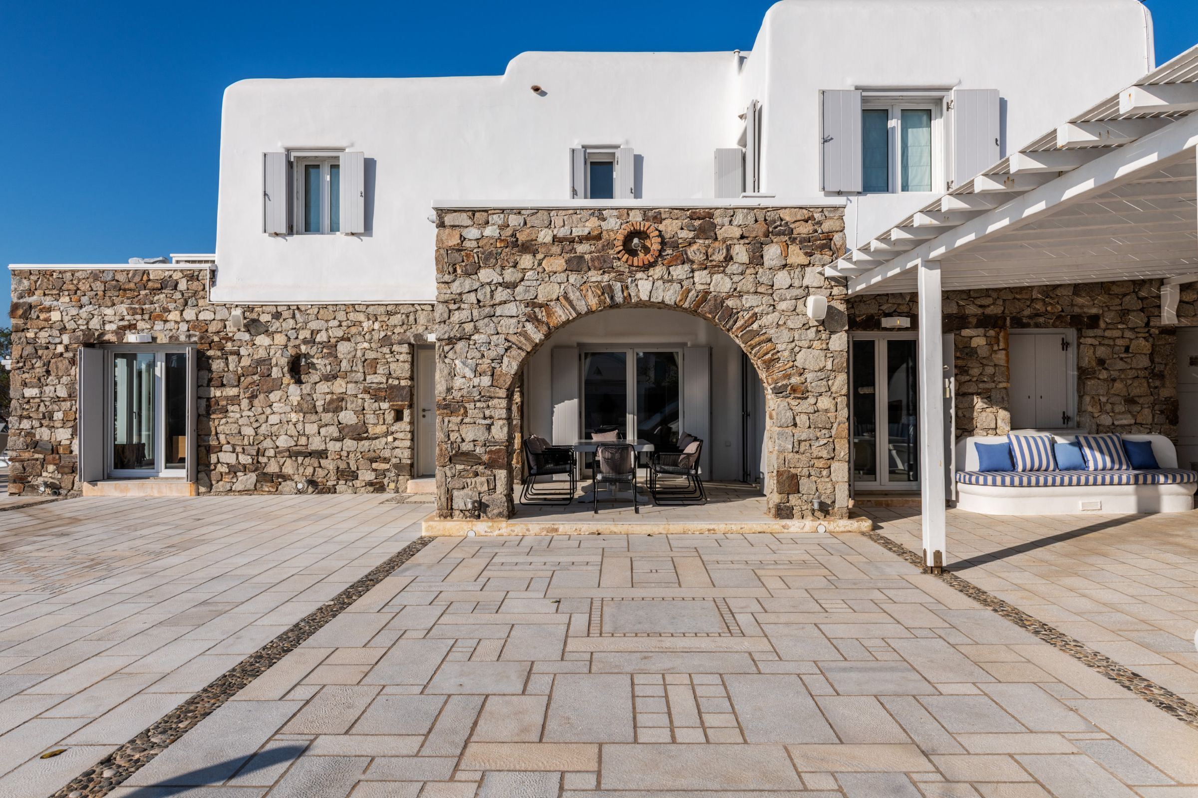 villa grecia mykonos