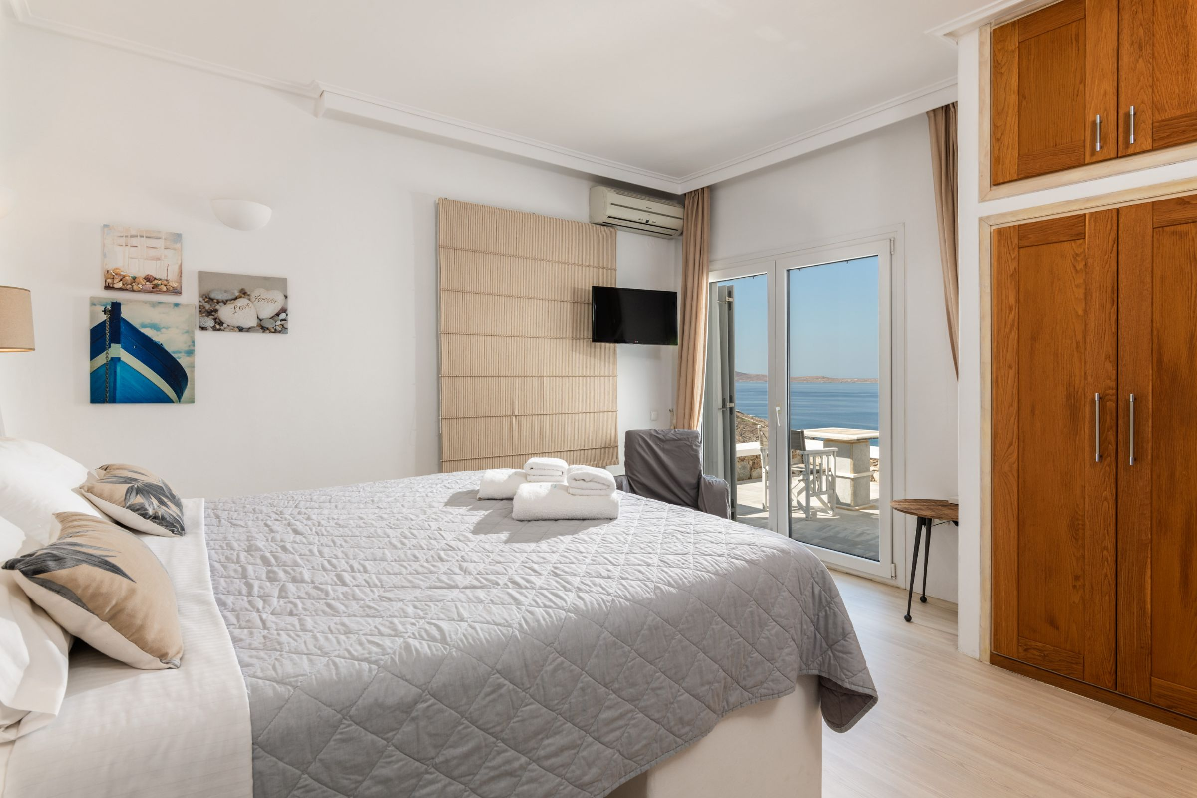 bedrooms villas mykonos
