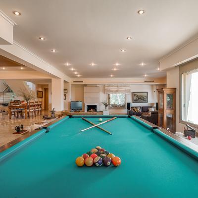 rhodes villas private pools groups