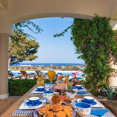 rhodes villas private pools wedding venue