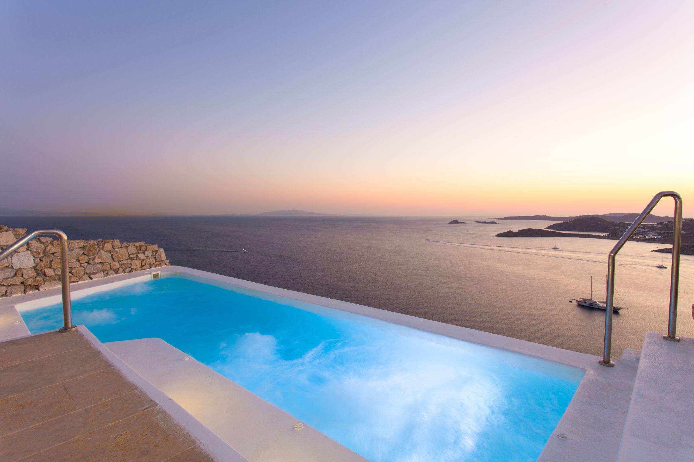 sea view villas mykonos