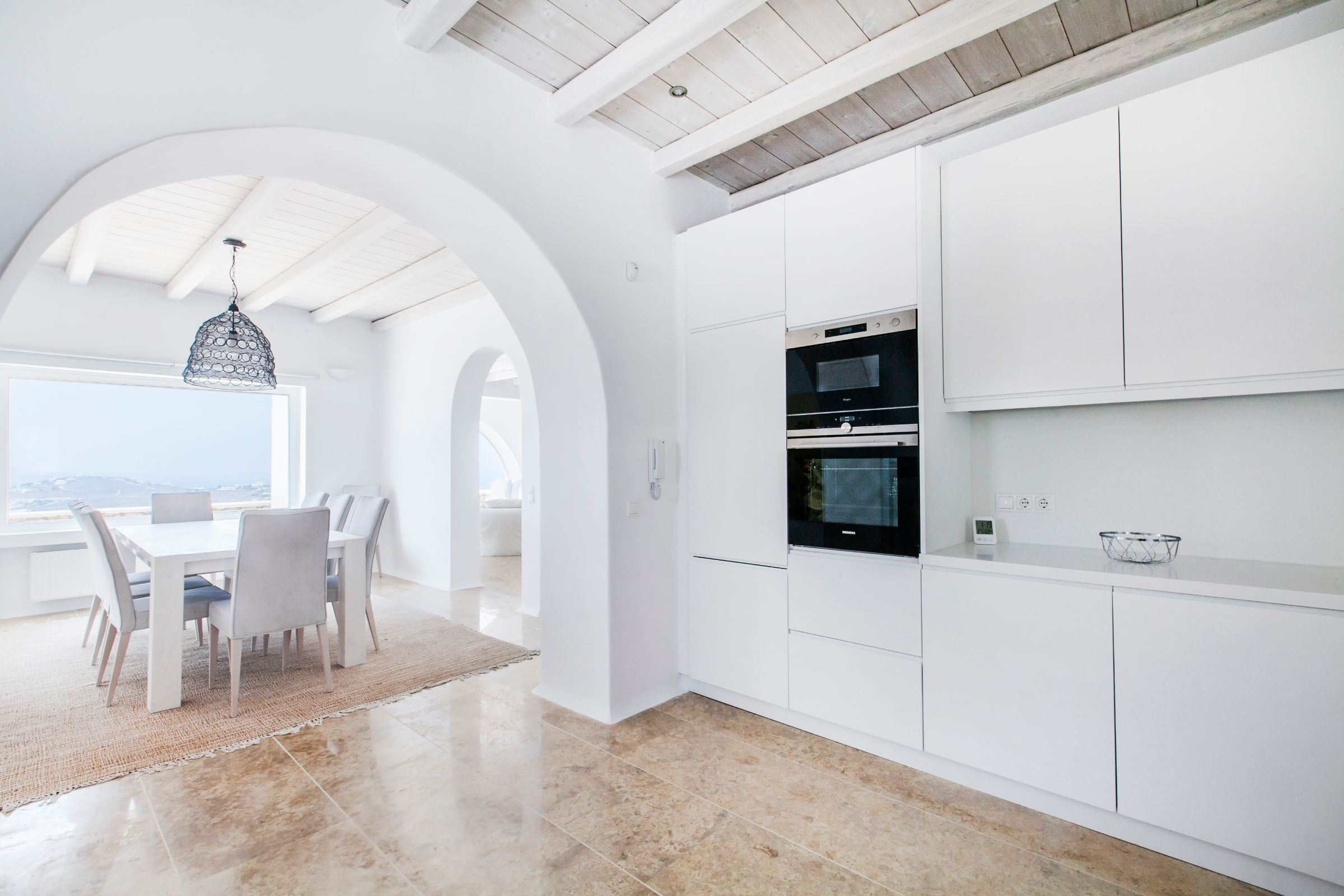 luxury mykonos villas views