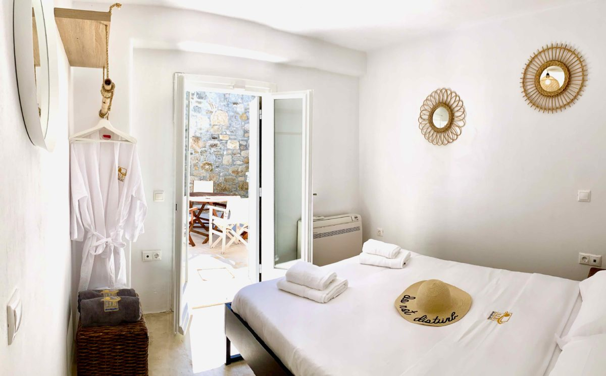 bedrooms mykonos villas