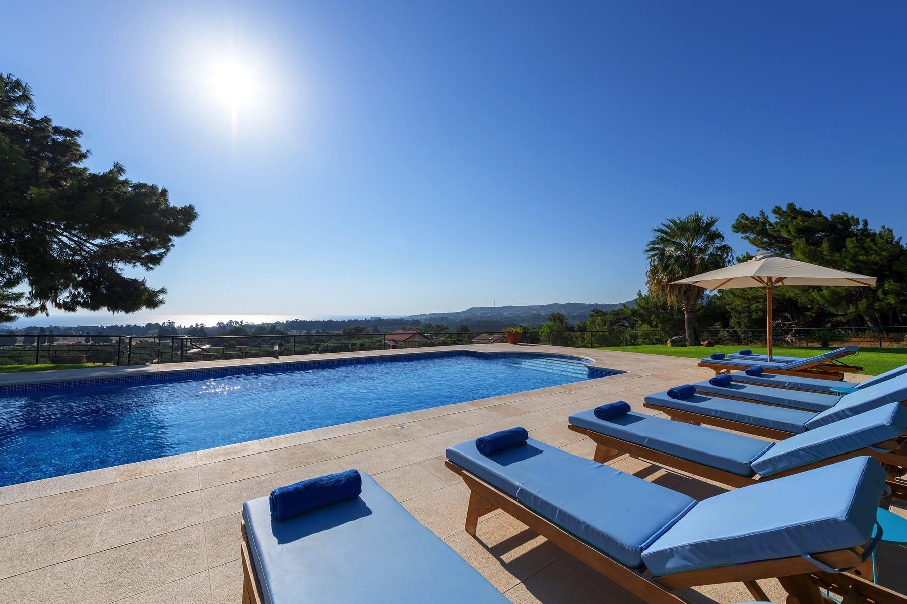 rodos villas private pools