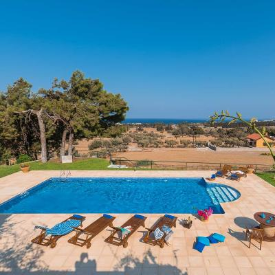 rhodes villas private pools weddings