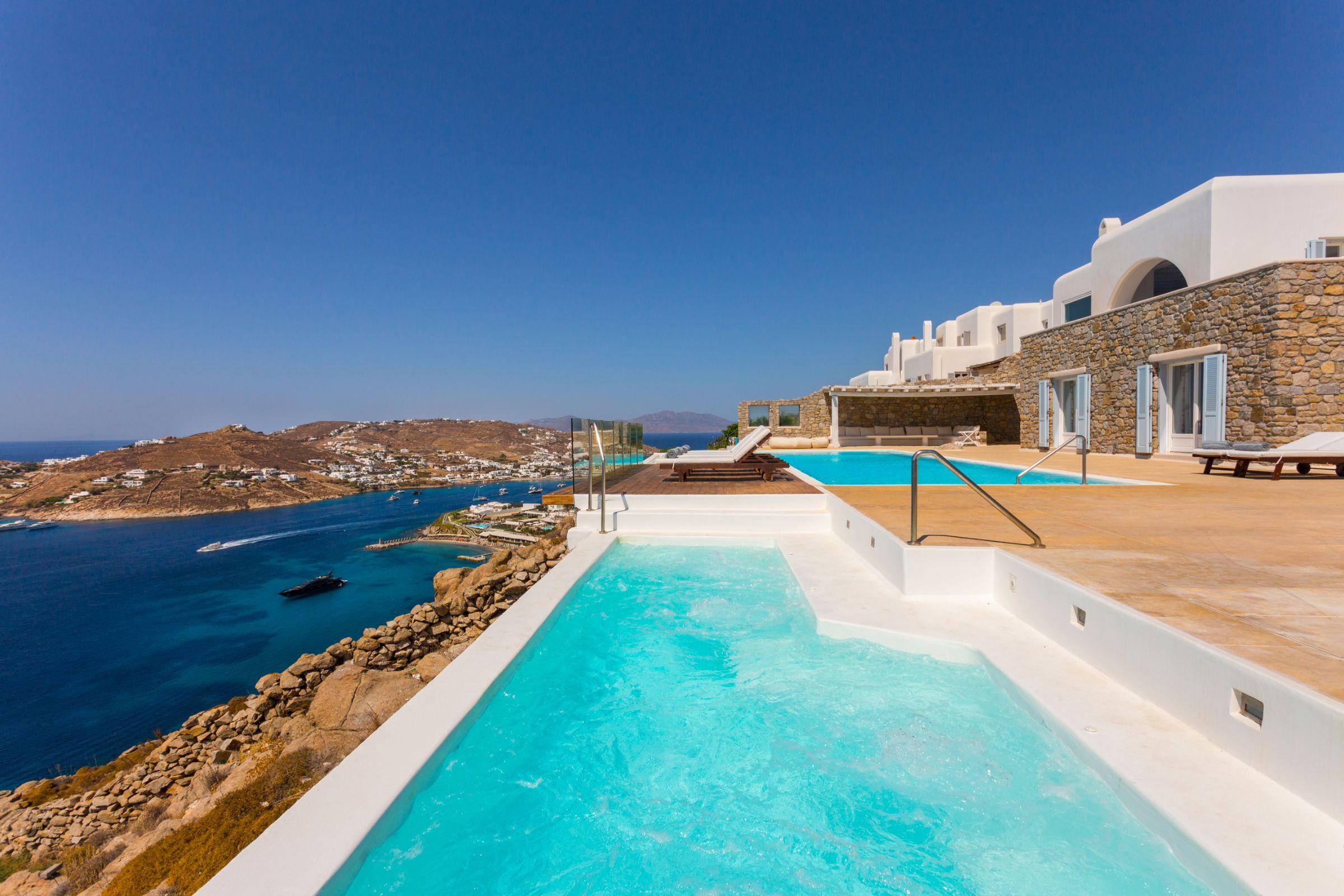 sea views mykonos villas
