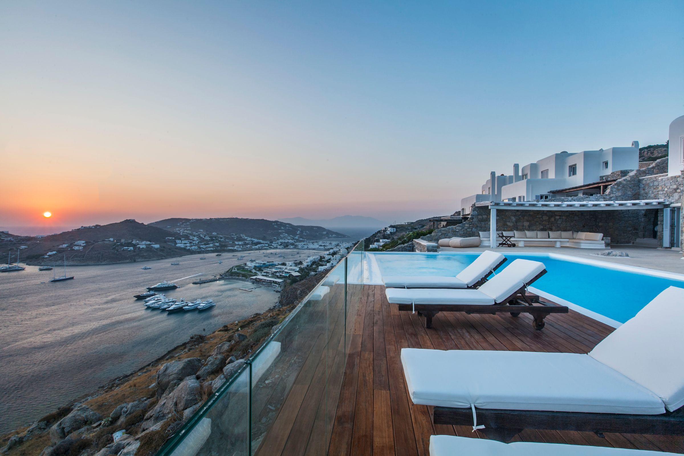 mykonos 6 bedroom villas
