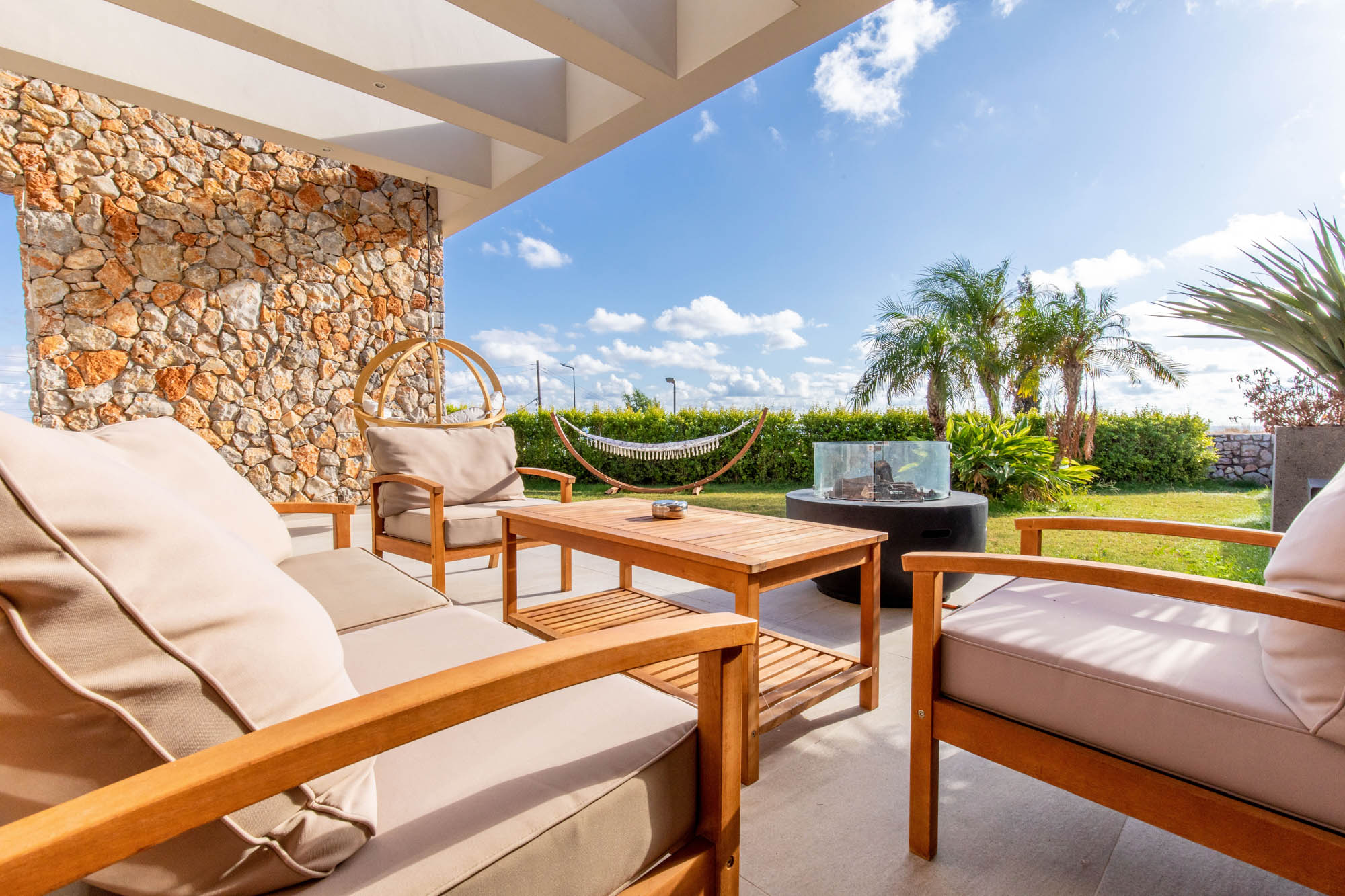 rhodes villas private pools gardens