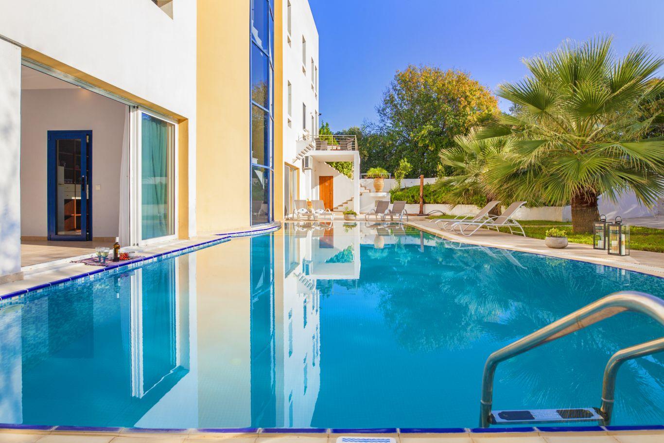rhodes villas private pools 5 bedrooms