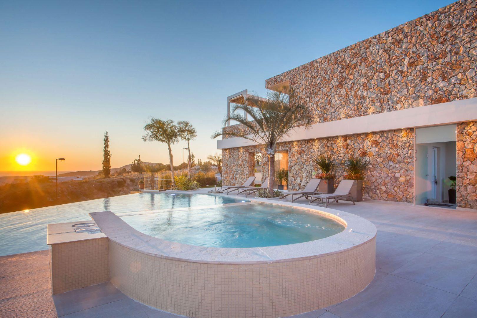 rhodes villas private pools