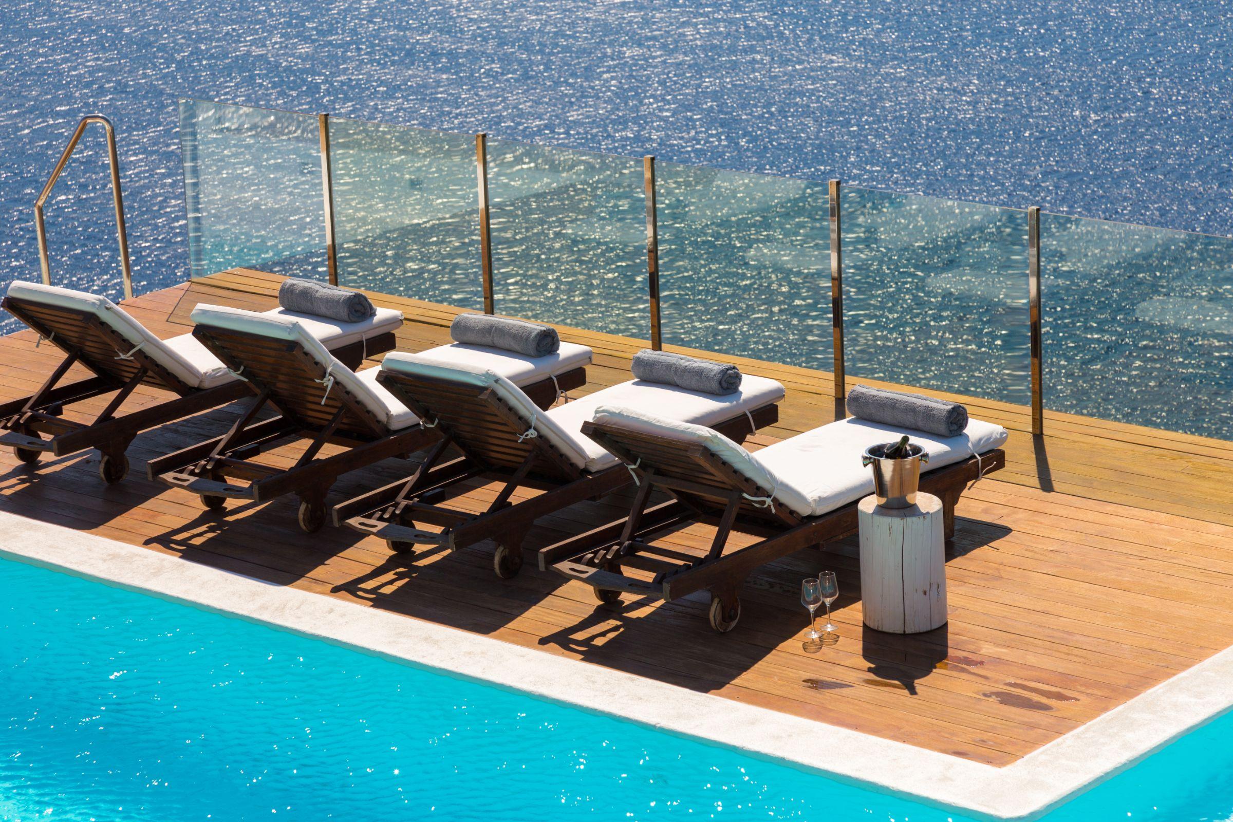 luxury mykonos villas terrca