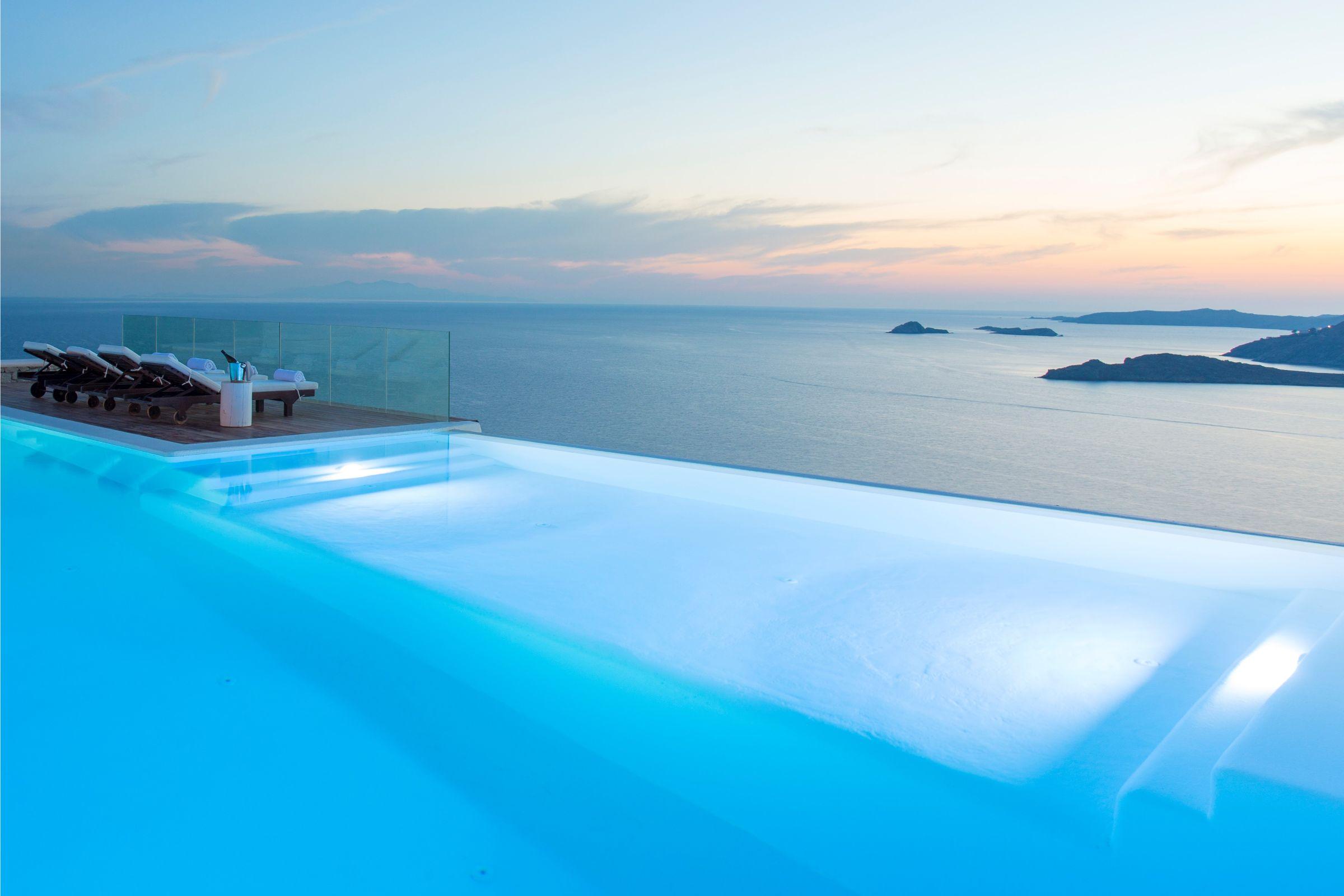 mykonos luxury private pool villas