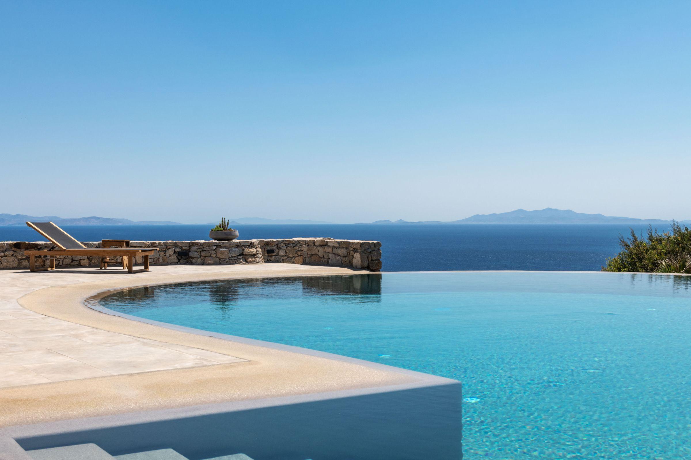 luxury mykonos villas private pools