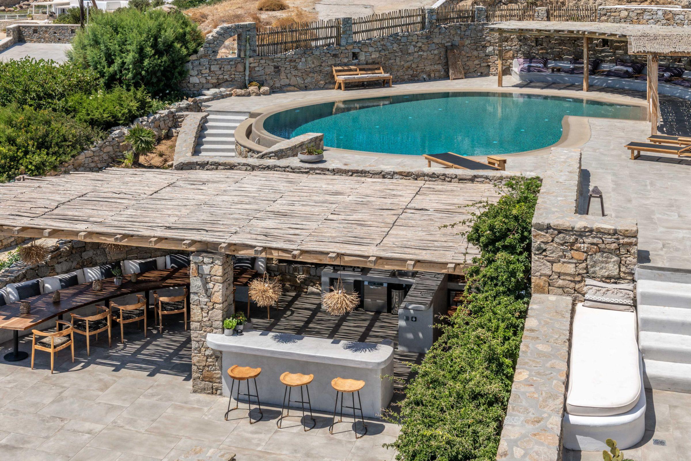 7 bedrooms villas mykonos