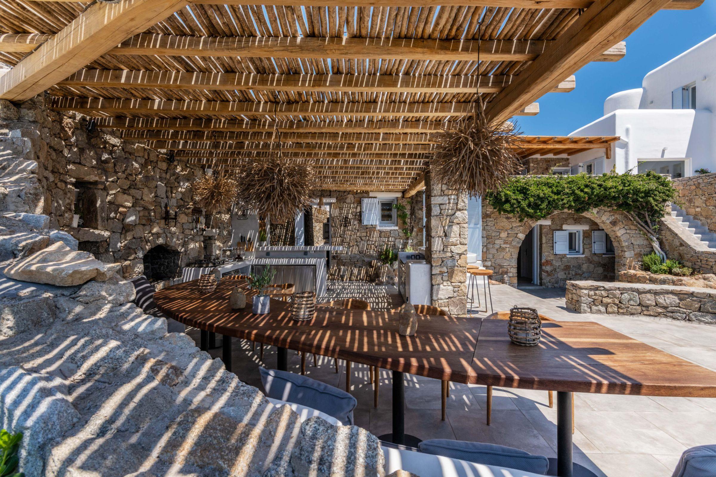 mykonos villas weddings