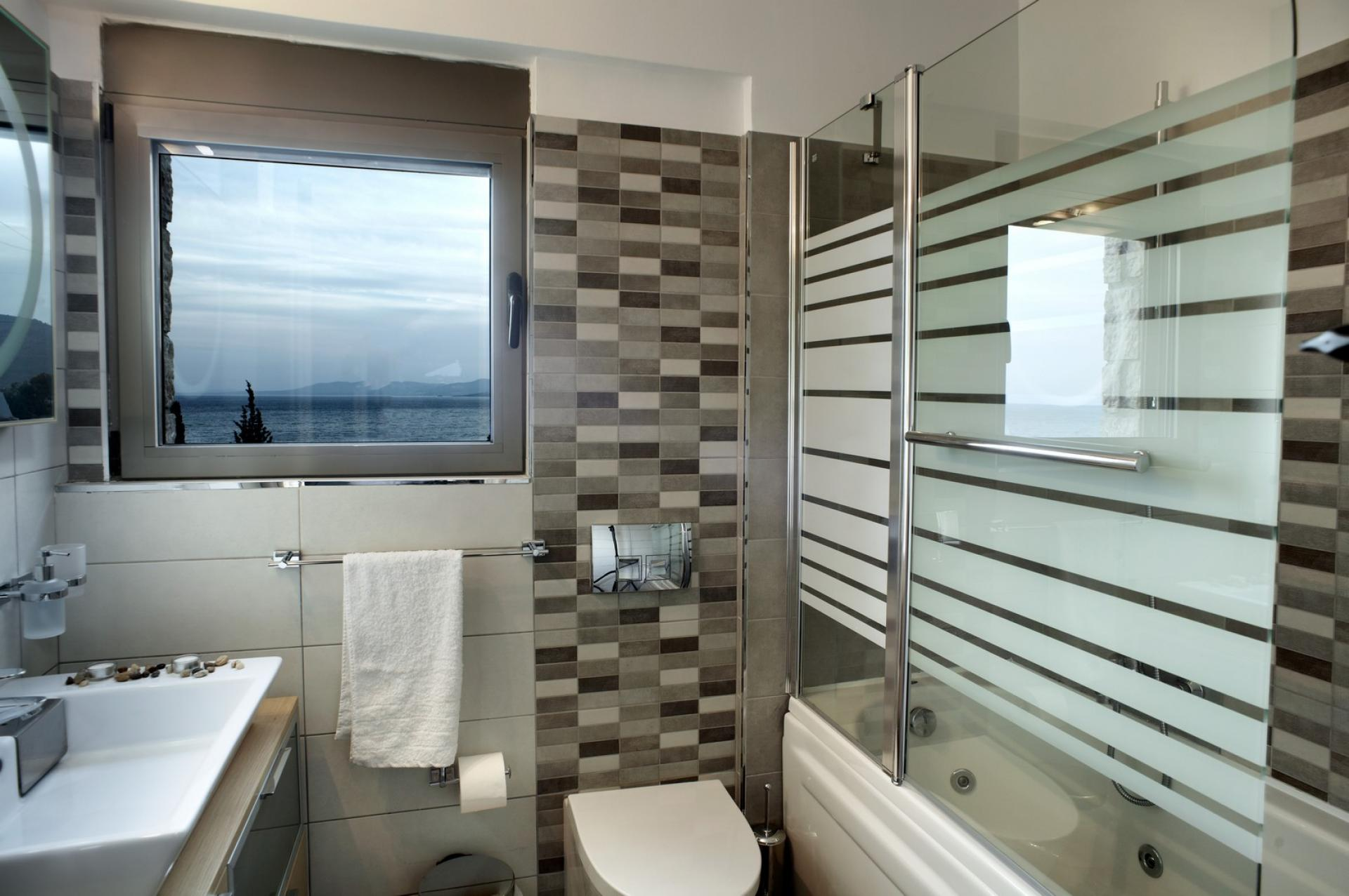bathrooms pefkos villas rhodes