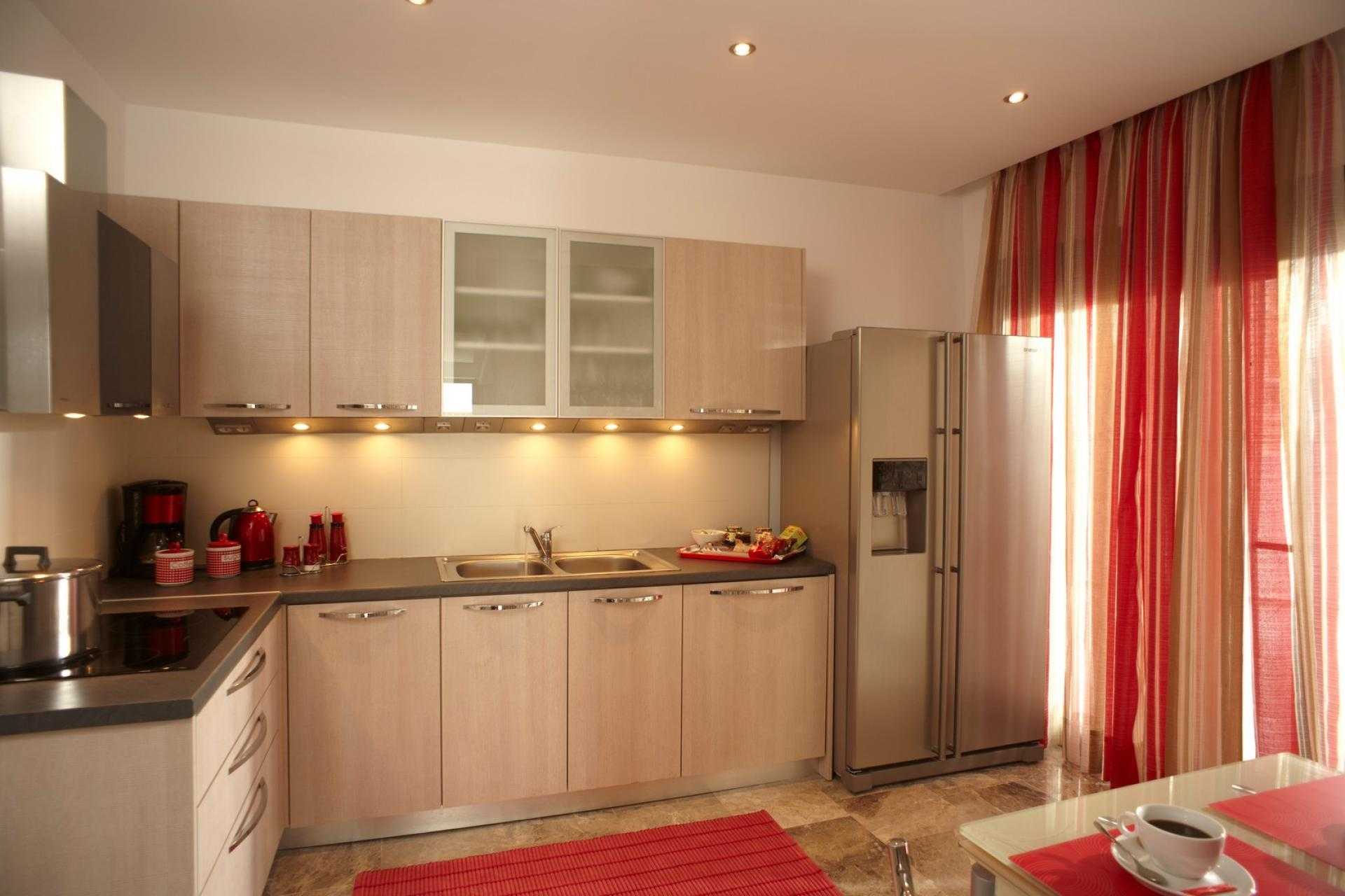 pefkos villas rhodes kitchens