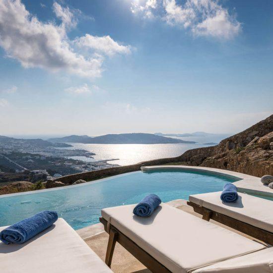 mykonos villas 2 bedrooms