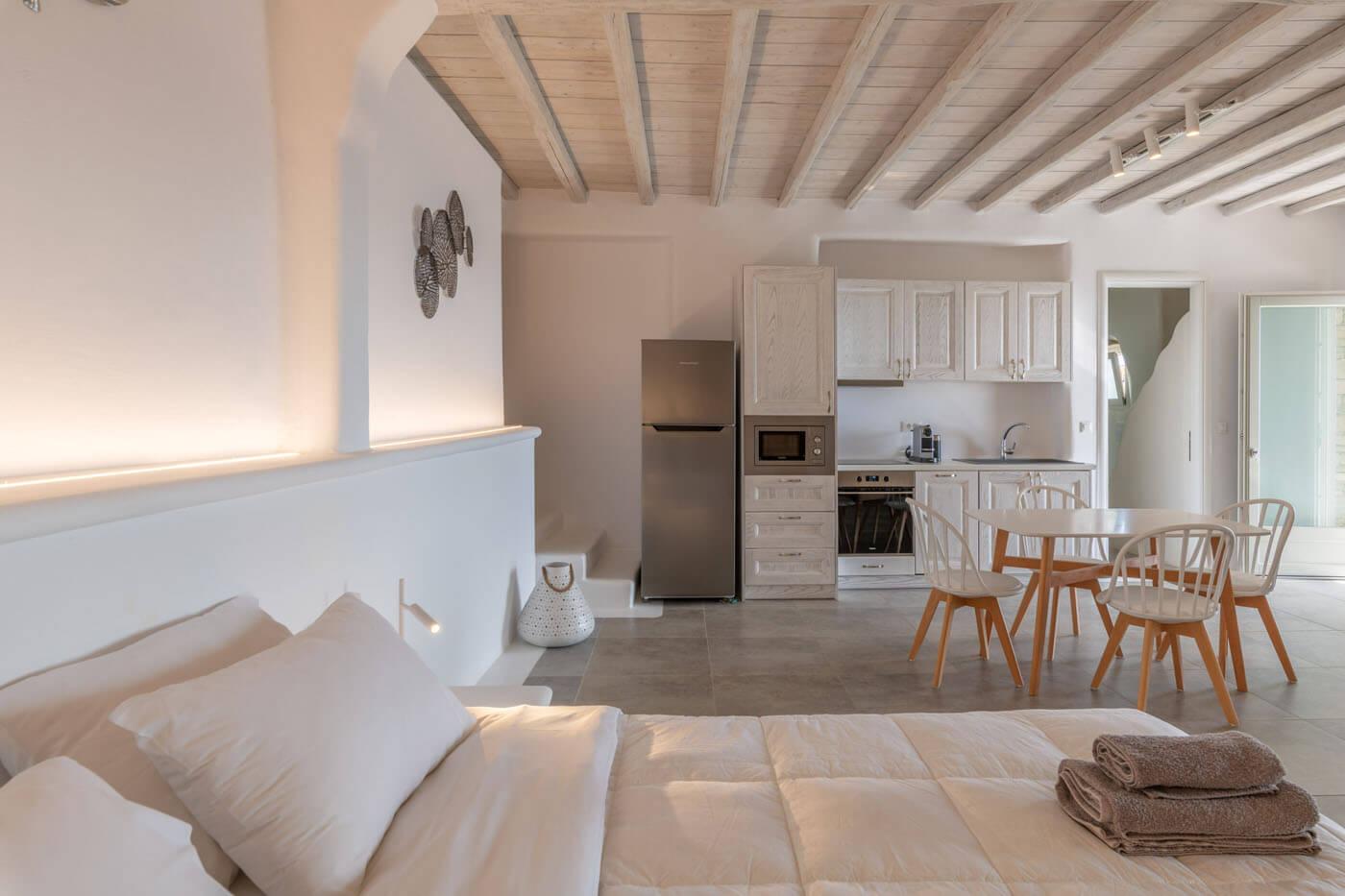 1 bedroom villas mykonos