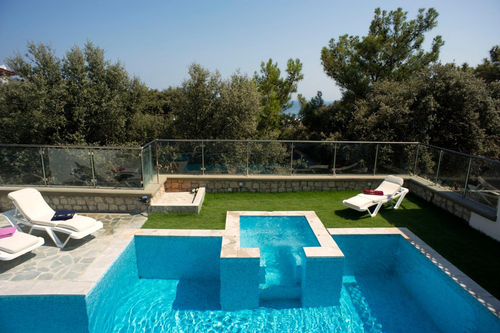 rhodes villa private pools