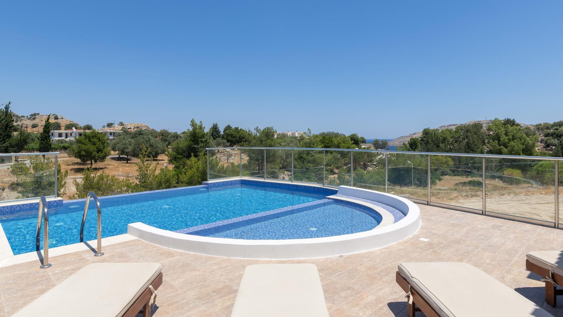 luxury lindos villas rhodes