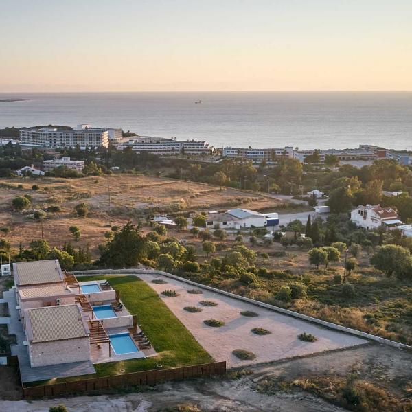 kallithea luxury villas complex