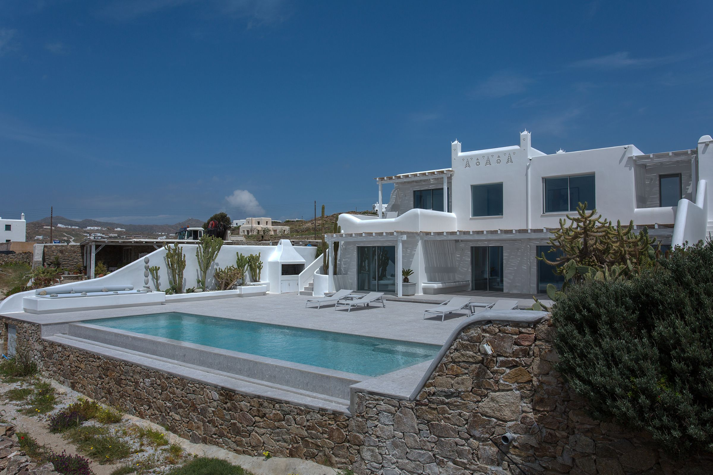 5 bedroom villas mykonos town
