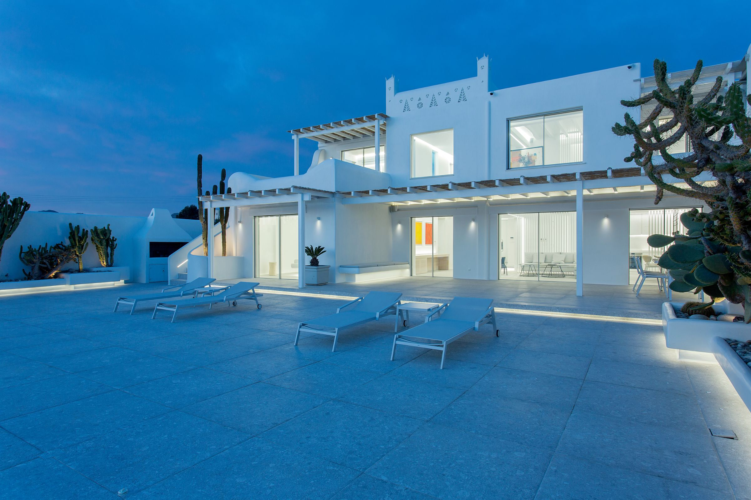 luxury mykonos 5 bedroom villas