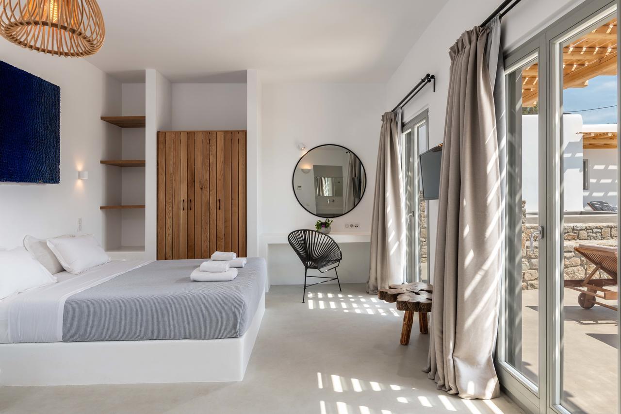 mykonos villas bedrooms