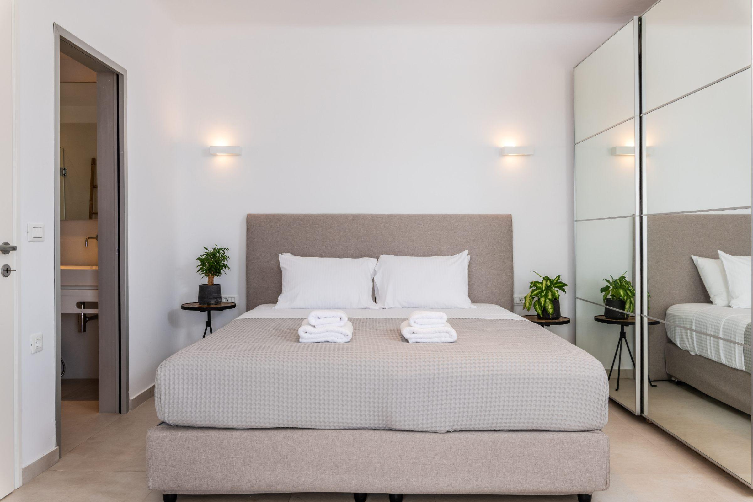 nilaya villa mykonos bedrooms